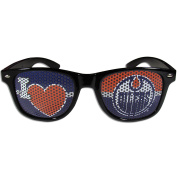 NHL Edmonton Oilers I Heart Game Day Shades, Black, Adult