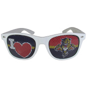 NHL Florida Panthers I Heart Game Day Shades, White,Adult,White