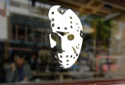 25cm JASON Voorhees Friday the 13th Vinyl Stickers Funny Decals Bumper Car Auto Computer Laptop Wall Window Glass Skateboard Snowboard