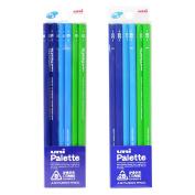 MITSUBISHI PENCIL uni Palette (uni-palette) persimmon person pencil core