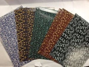 High Quality 10 Sheets Of Designer Soft Touch Foiled Wrap Wrapping Paper