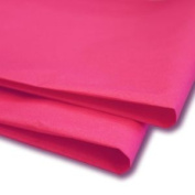 100 X Hot Pink Tissue Paper / Wrap / Wrapping Paper Sheets 50cm X 80cm