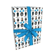 Tom Hardy Personalised Birthday Wrap With 2 Tags - Add A Name!