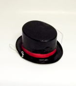 Casino Plastic Mini Hats 10.9cm X 9.5cm -