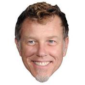 James Hetfield Celebrity Mask, Card Face And Fancy Dress Mask