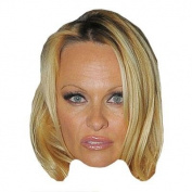 Pamela Anderson Celebrity Mask, Card Face And Fancy Dress Mask