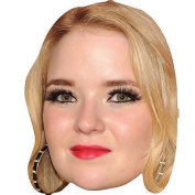 Lorna Fitzgerald Celebrity Mask, Card Face And Fancy Dress Mask