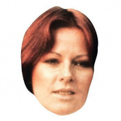 Anni-frid Lyngstad Celebrity Mask, Card Face And Fancy Dress Mask