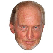 Charles Dance Celebrity Mask, Card Face And Fancy Dress Mask