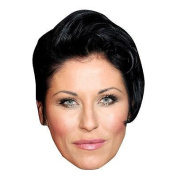 Jessie Wallace Celebrity Mask, Card Face And Fancy Dress Mask