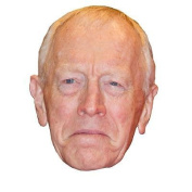 Max Von Sydow Celebrity Mask, Card Face And Fancy Dress Mask