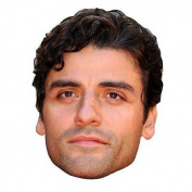 Oscar Isaac Celebrity Mask, Card Face And Fancy Dress Mask