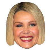 Melinda Messenger Celebrity Mask, Card Face And Fancy Dress Mask
