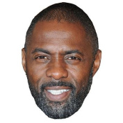 Idris Elba Celebrity Mask, Card Face And Fancy Dress Mask