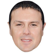 Paddy Mcguinness Celebrity Mask, Card Face And Fancy Dress Mask