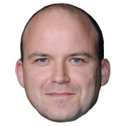 Rory Kinnear Celebrity Mask, Card Face And Fancy Dress Mask