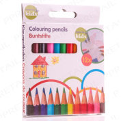 12 X Mini Colouring Pencils Childrens Birthday Party Bag Toy Fillers/favour
