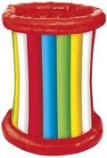 Multi Colour Striped Inflatable Party Cooler