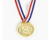 "30cm i'm A Winner"" Gold Medals For Party Bags & Game Prizes 