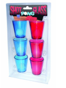 Shots Glass Beer Pong Drinking Adult Party Game