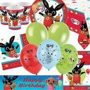 Bing Deluxe Party Supplies Kit For 16