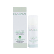 EQUILIBRIUM - COSMESI NATURALE Organic Moisturiser Anti Age Day for Face 50 ml with Organic Olive Oil and Aloe Vera