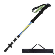 NICEAO Collapsible Hiking Poles 3-Section Retractable Trekking Poles Carbon Fibre Walking Sticks for Travel Hiking Climbing Backpacking Mountaineer