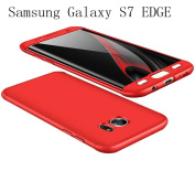 Samsung Galaxy S7 EDGE Case 360 Degree Protection 3 in 1 Slim Cover Adamark Shockproof Shell Full Body Coverage Protection Protective Case For Samsung Galaxy S7 EDGE