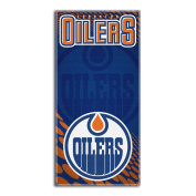 The Northwest Company NHL Edmonton Oilers Emblem Beach Towel, 70cm by 150cm