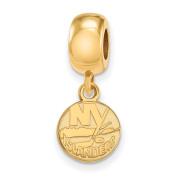 New York Islanders Bead Charm Extra Small (1cm ) Dangle