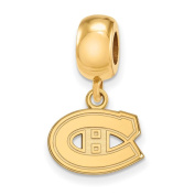 Montreal Canadiens Bead Charm Extra Small (1cm ) Dangle