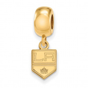 Los Angeles Kings Bead Charm Extra Small (1cm ) Dangle