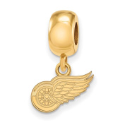 Detroit Red Wings Bead Charm Extra Small (1cm ) Dangle
