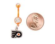 Philadelphia Flyers Navel Ring