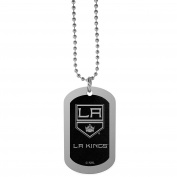 NHL Los Angeles Kings Chrome Tag Necklace, 70cm