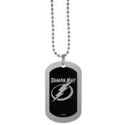 NHL Tampa Bay Lightning Chrome Tag Necklace, 70cm