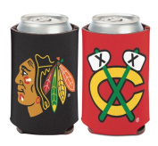 NHL Chicago Blackhawks 1 Pack 350ml 2-Sided Can Cooler Coozie