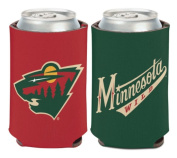 NHL Minnesota Wild 350ml 2-Sided Can Cooler Coozie