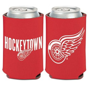 NHL Detroit Red Wings HOCKEYTOWN 350ml Can Cooler Coozie