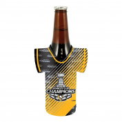 NHL Pittsburgh Penguins 2016 Stanley Cup Champions Bottle Jersey, 350ml, Black