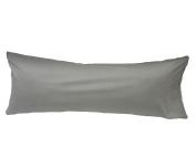 Sleep Solutions Body Pillow Case, Silver