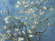Almond Blossom, 1890 by Vincent Van Gogh Double Sided Laminate, Size 80cm x 60cm