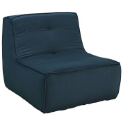 Modway Align Upholstered Armchair, Azure