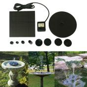 IGEMY Floating Solar Powered Pond Garden Water Pump Fountain Kit Bird Bath Fish Tank