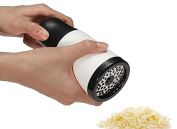Cheese Parmesan Grinder Mill Gourmet Parmesan Grater, Kitchen Aid Manual Cheese Slicer for Soft Cheese & Parmesan without Holder Machine Hand Mill, Parmesan Cheese Grater Cutter