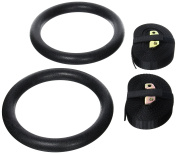 We R Sports® Pair Of Portable Gym Gymnastic Olympic Rings For Crossfit Strength Training