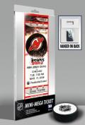 Martin Brodeur New Jersey Devils - Record Breaker 552 Wins - Mini-Mega Ticket