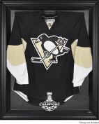 Pittsburgh Penguins 2017 Stanley Cup Champions Black Framed Jersey Display Case - Fanatics Authentic Certified