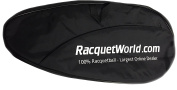 """Deluxe"" Full Size Racquetball Racquet Cover w/ Pocket"