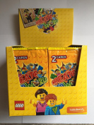 Box of 300 Lego Create the World Cards - 150 packs of 2 - Yellow Pack for Sainsbury's collectors album
